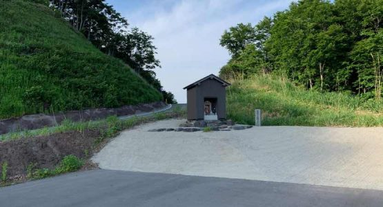 タイトコーナーの連続する国道416号線(福井県-石川県)大日峠