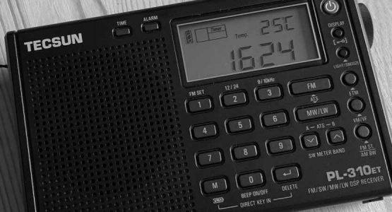 ひとり旅キャンプのラジオTECSUN PL-310ET