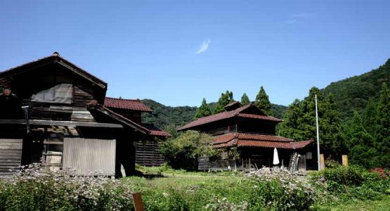 まるで昭和初期、石川県加賀市山中温泉大土町