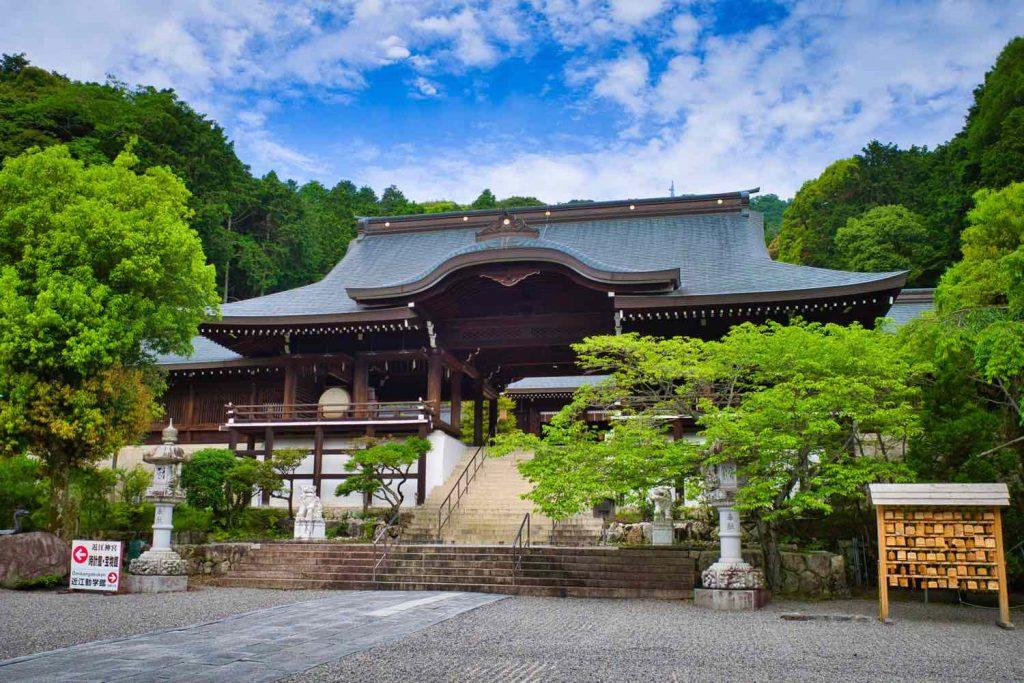 近江神宮 外拝殿