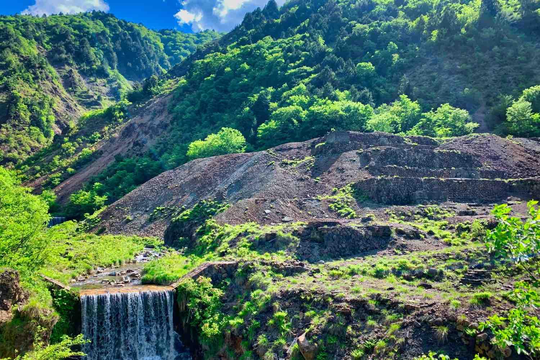 福井県大野市面谷(おもだに)鉱山跡