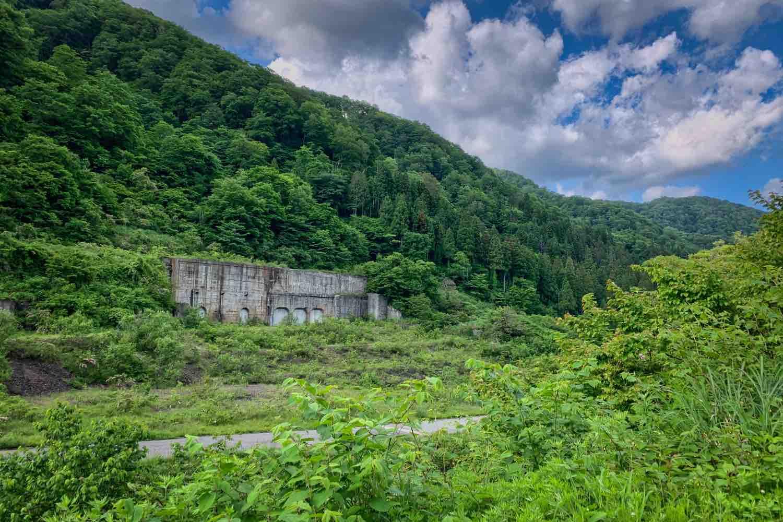 中竜鉱山(なかたつこうざん)跡